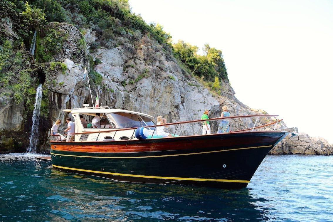 Escursione in barca a Positano, Amalfi e Baia di Ieranto