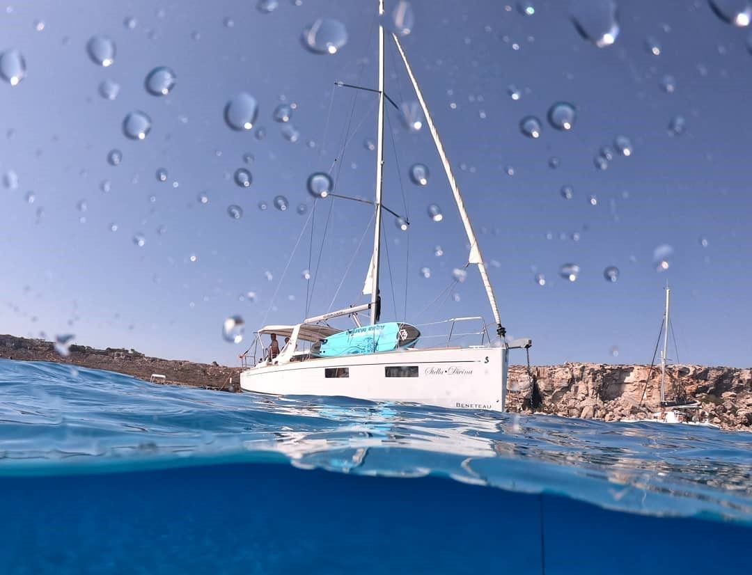 Escursione in barca a vela a Favignana