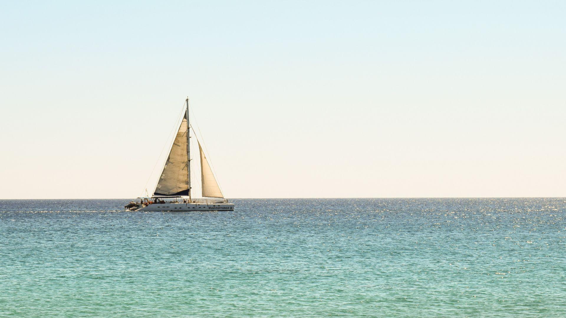 Escursione in barca a vela a Santa Marinella