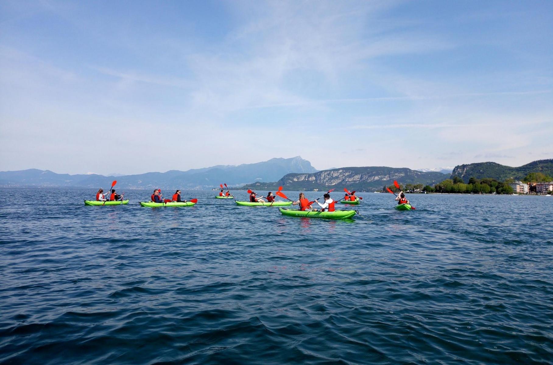 Escursione in canoa a Bardolino sul Lago di Garda
