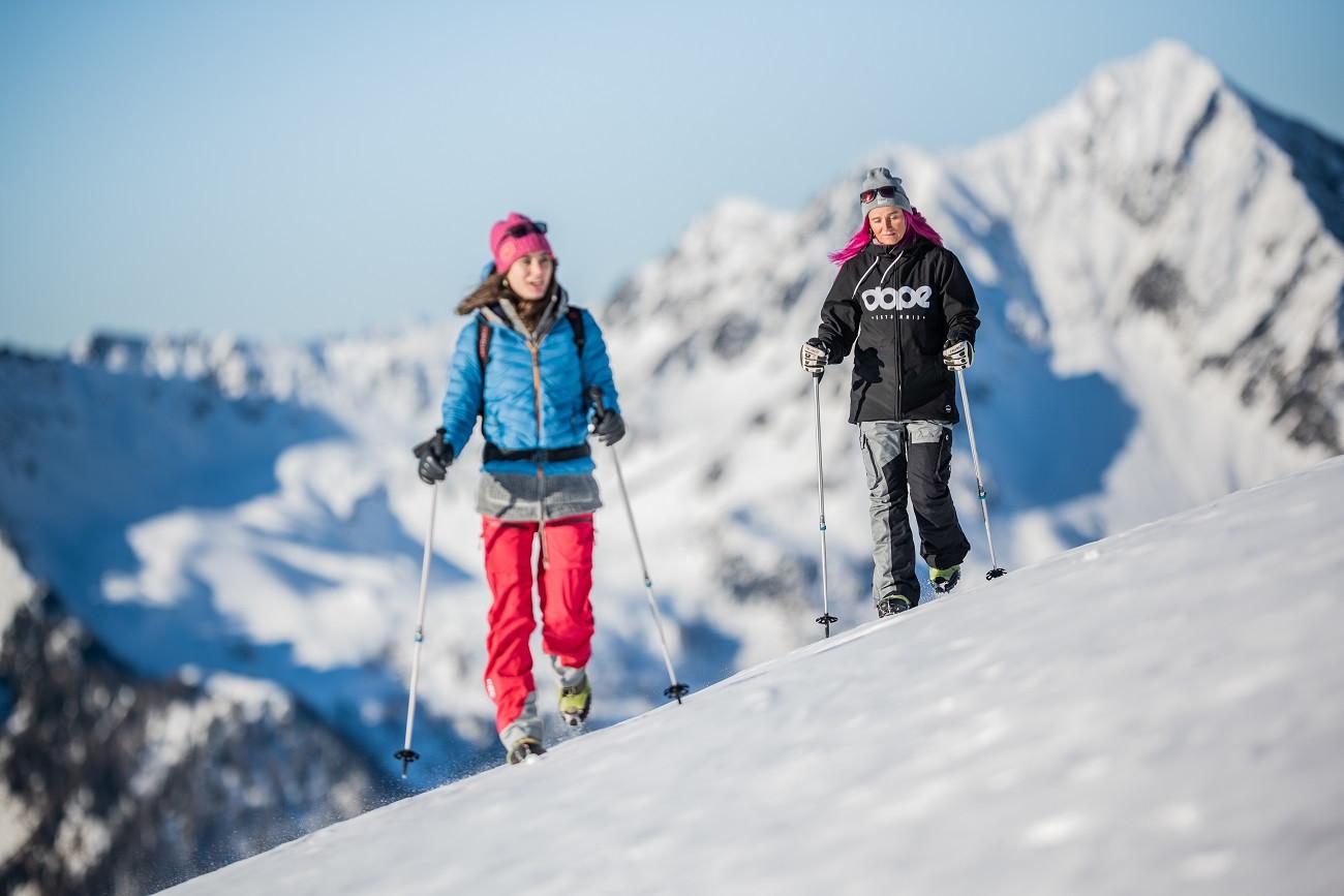 Escursione in ciaspole sul Klausberg in Alto Adige