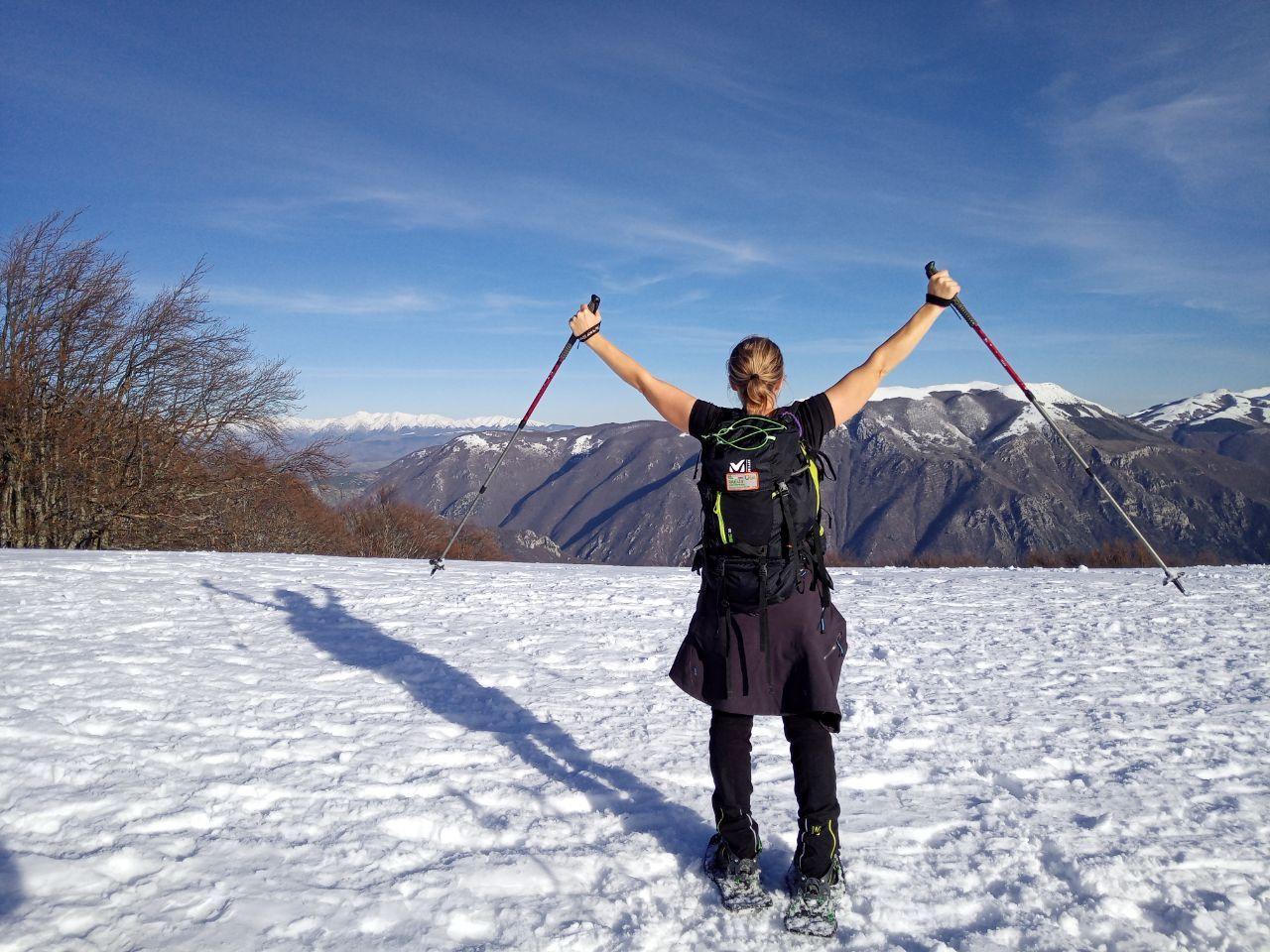 Escursione in ciaspole sul Monte Terminillo