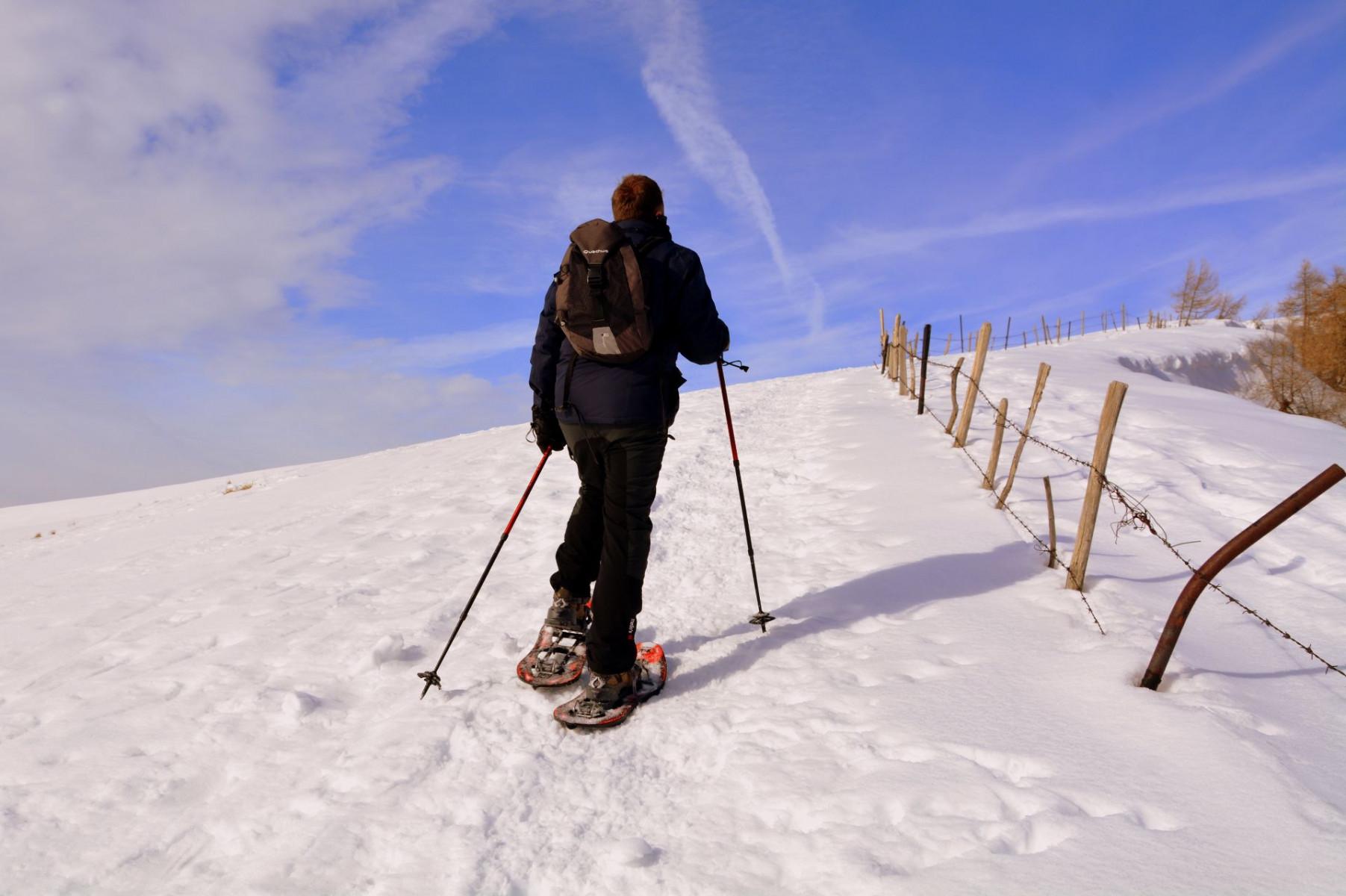 Escursione in ciaspole sui Monti Sibillini