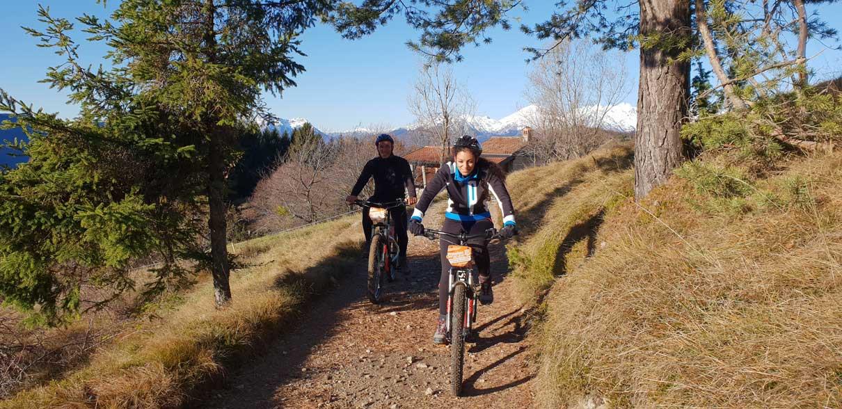 E-Bike Tour a Bossico in provincia di Bergamo