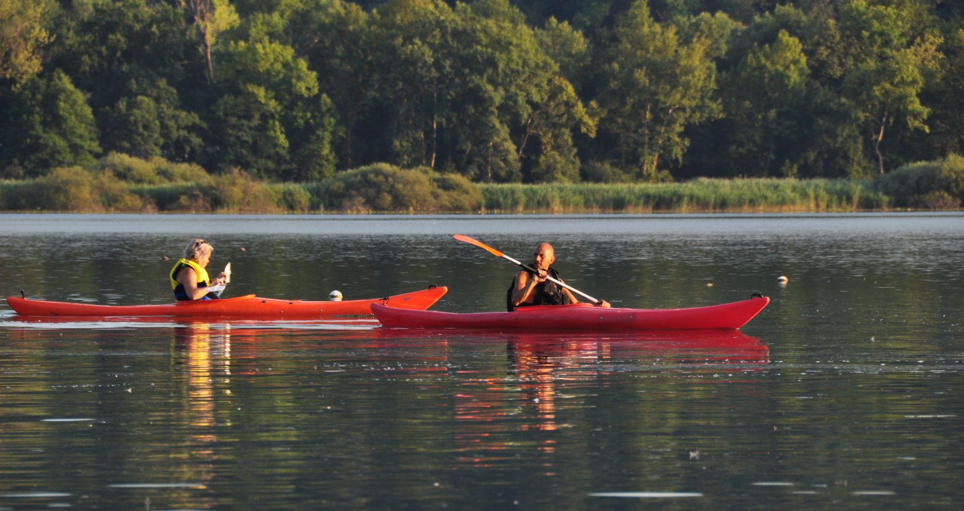 Escursione in kayak sul lago di Varese