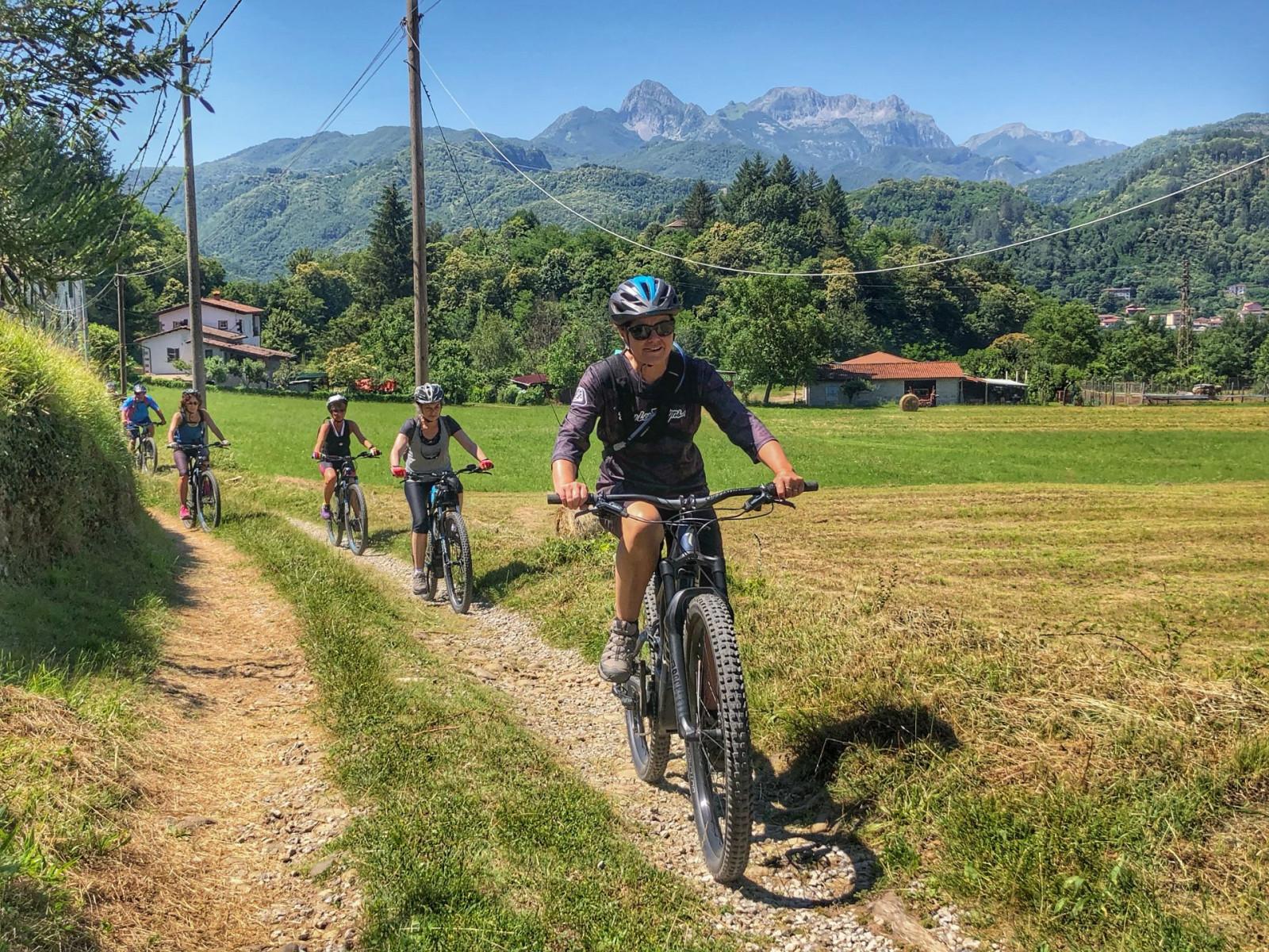Escursione in MTB elettrica in Garfagnana
