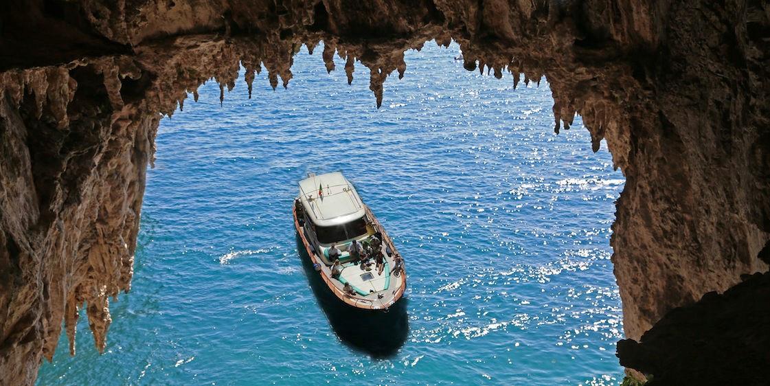 Escursione panoramica in barca a Capri