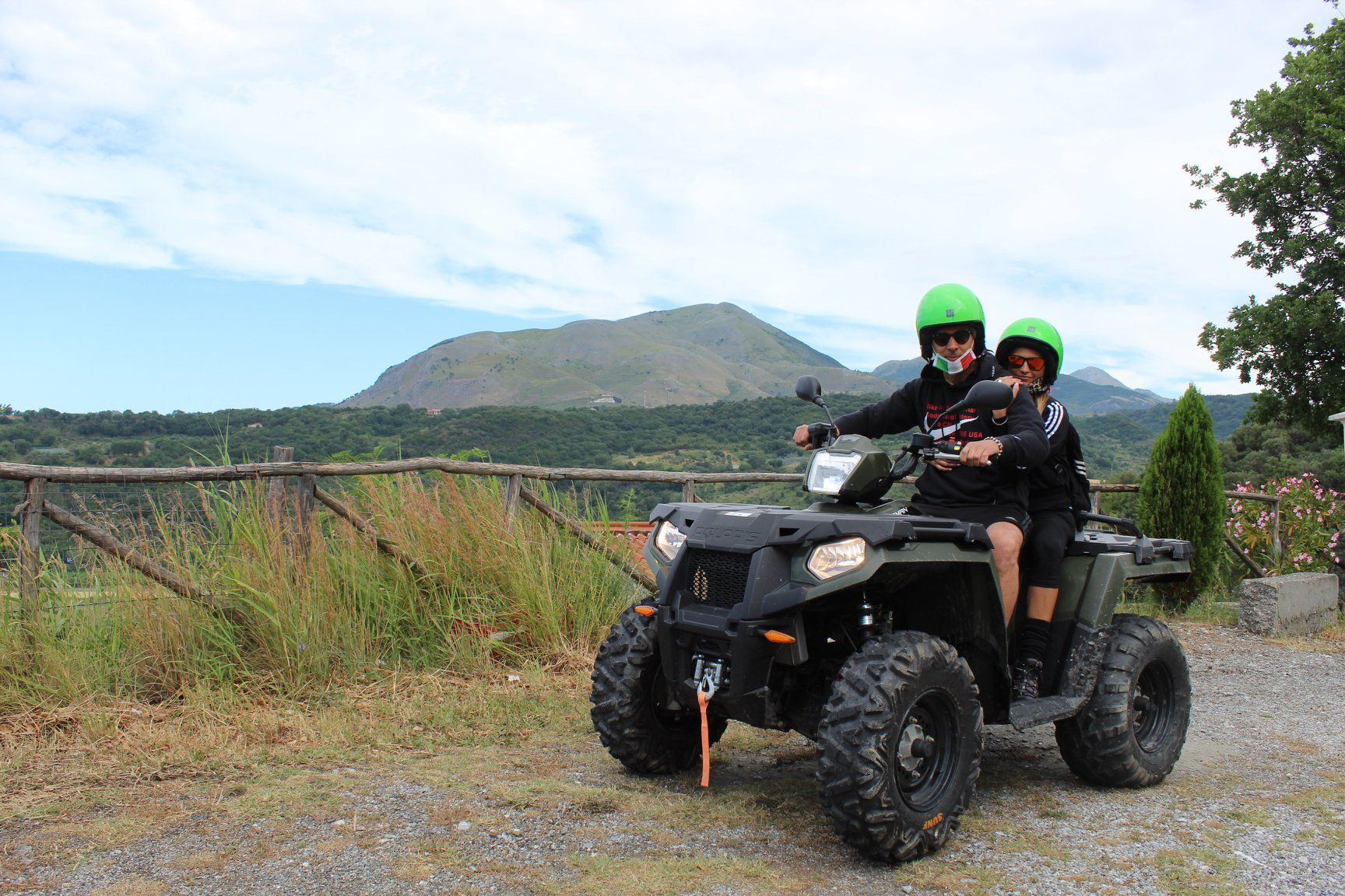 Tour panoramico in quad nel Parco Nazionale del Pollino