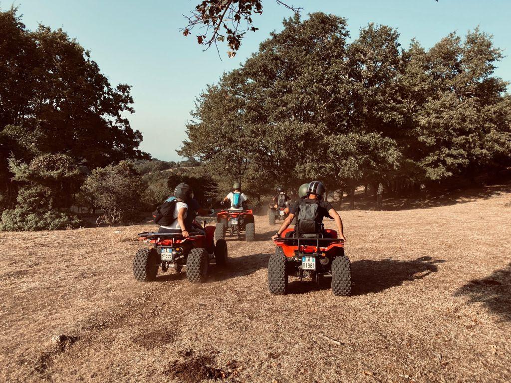 Escursione in quad sul Gargano