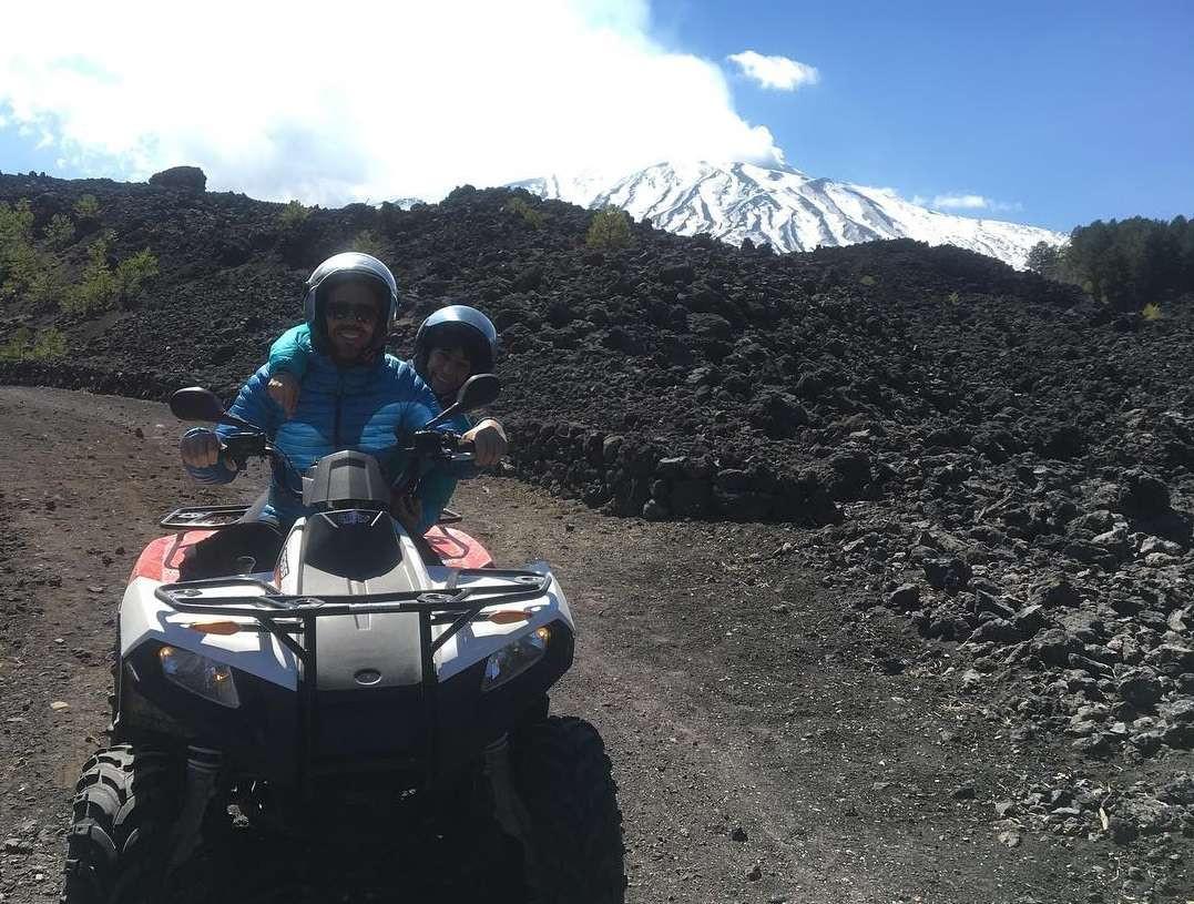 Escursione in quad di mezza giornata sull'Etna
