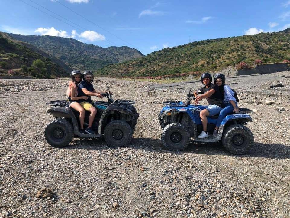 Escursione in quad a Montagna Grande nella Valle dell'Alcantara