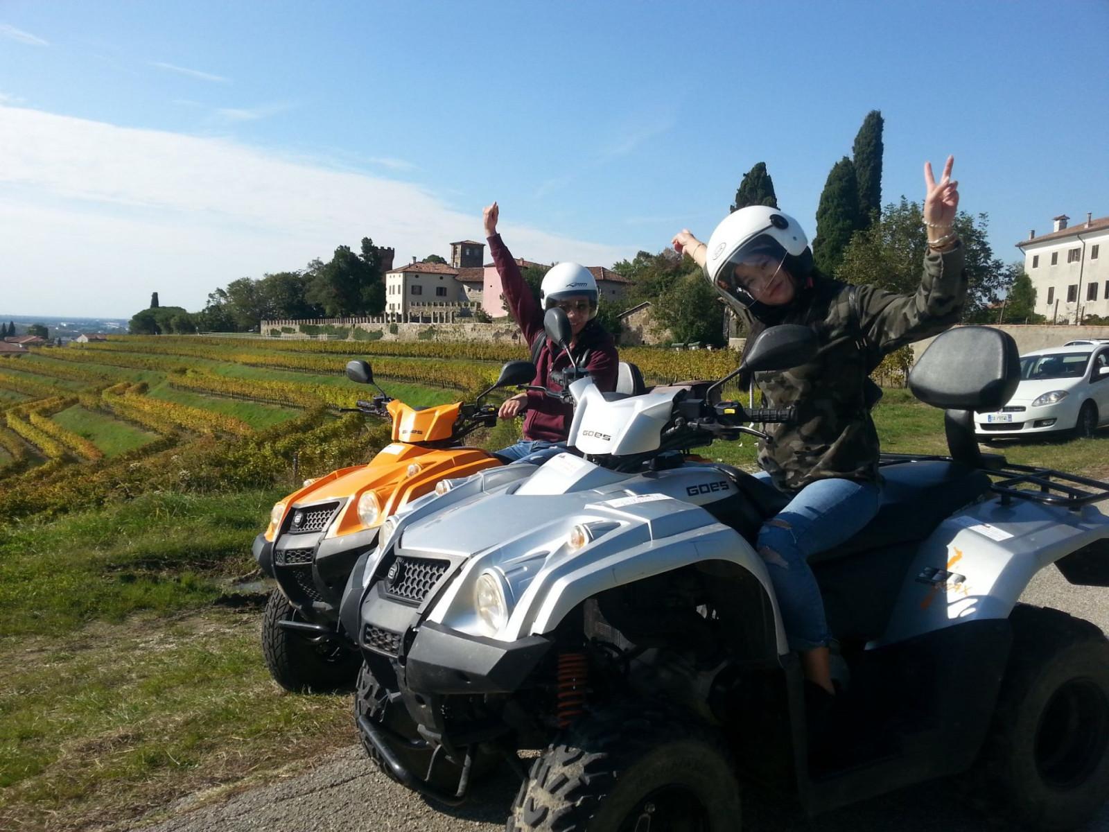 Escursione in quad a Palmanova
