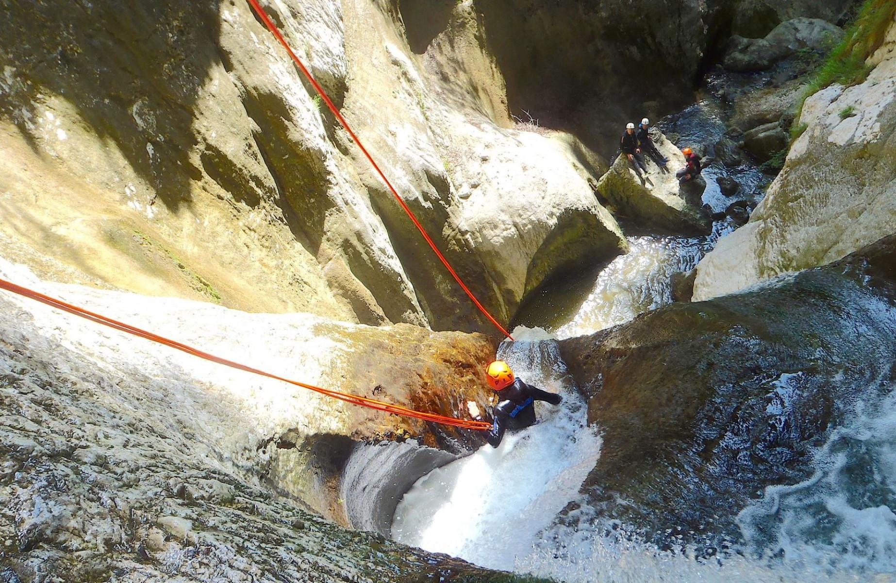 Extreme Canyoning al Vajo dell'Orsa
