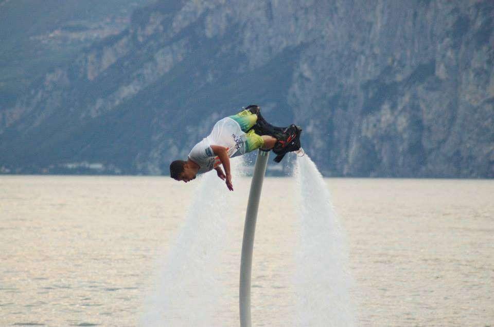 Flyboard Advanced sul Lago di Garda