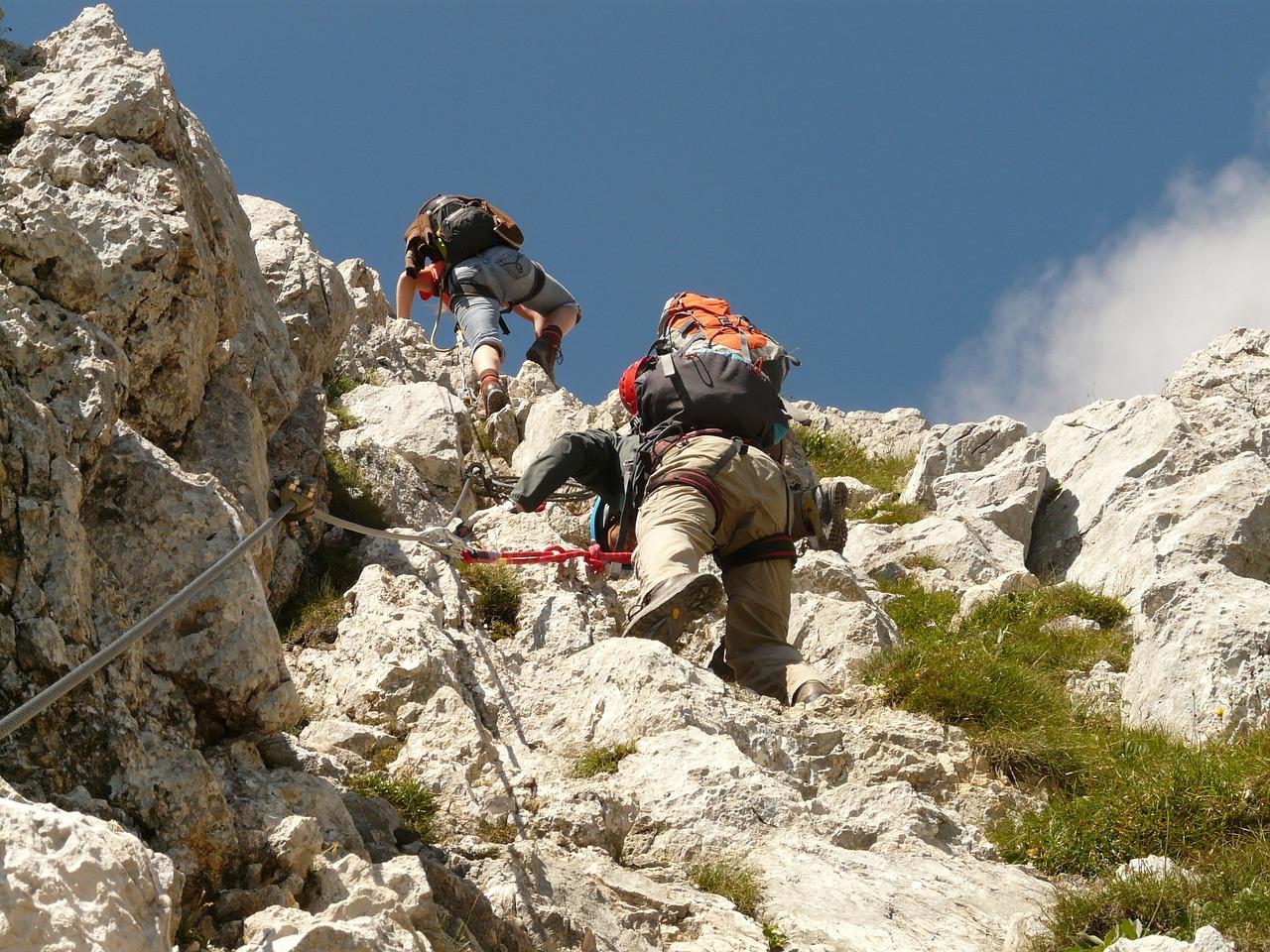 Giornata di avvicinamento all'arrampicata a Finale Ligure
