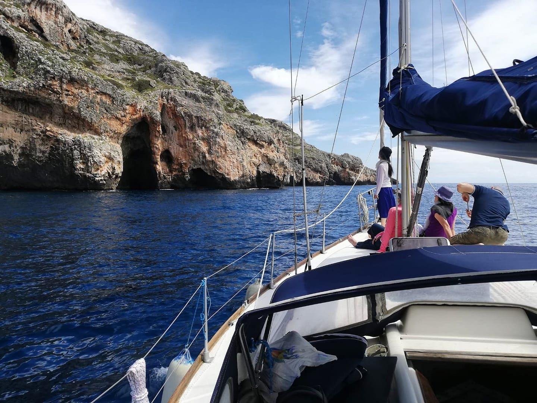 Giornata in barca a vela con pranzo a S. Maria di Leuca