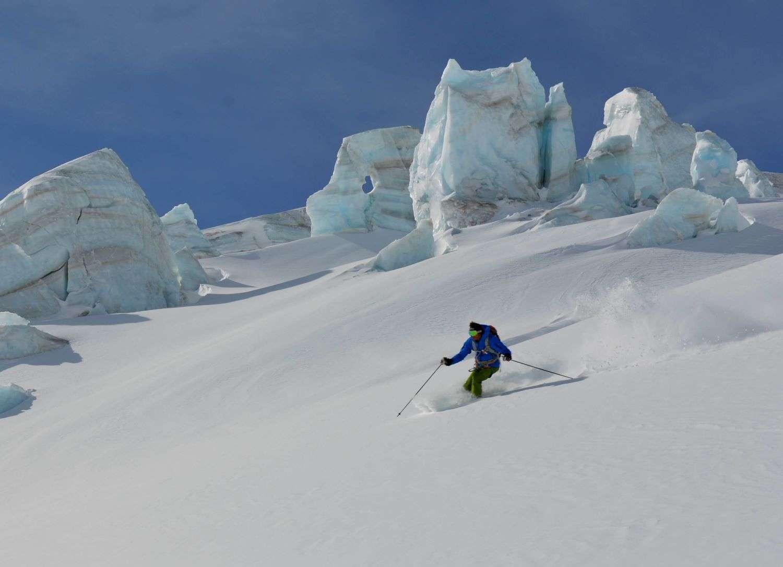 Giornata di Freeride con Maestro di Sci sul Monte Rosa