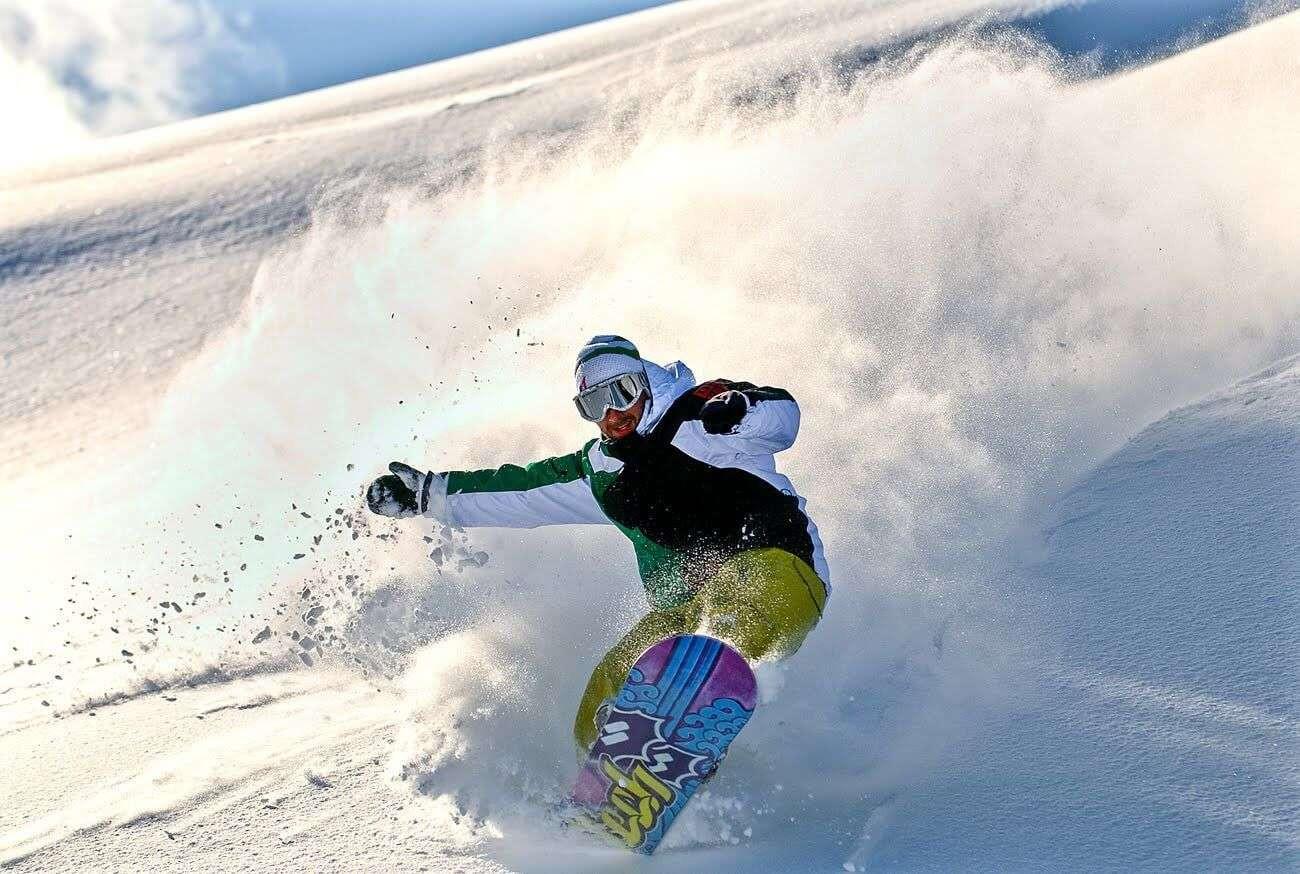 Giornata di snowboard freeride a Madonna di Campiglio