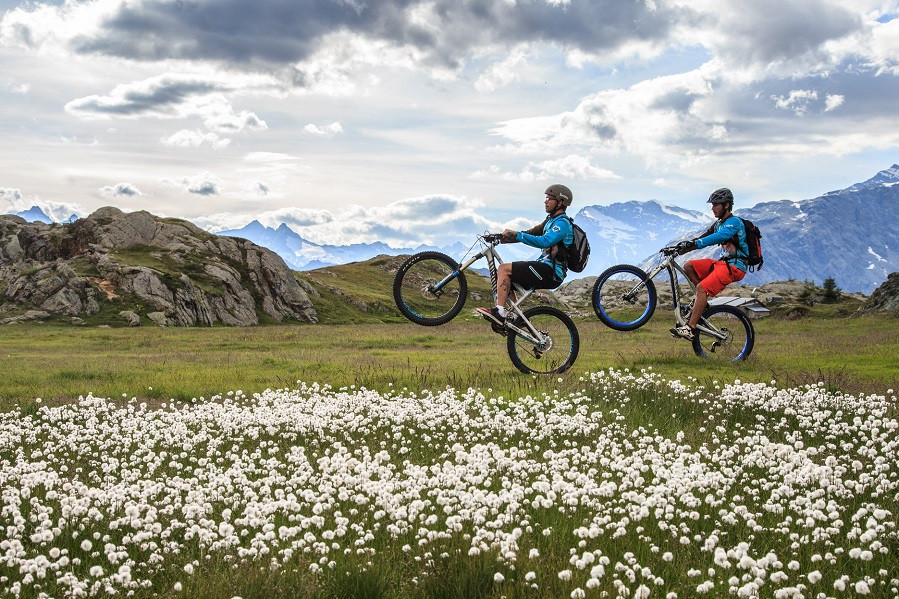 Giornata intera in e-bike in Valtellina