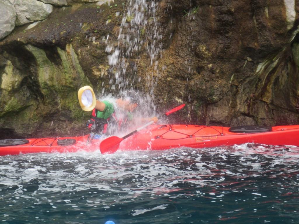 Giornata in kayak nella Baia di Ieranto (NA)