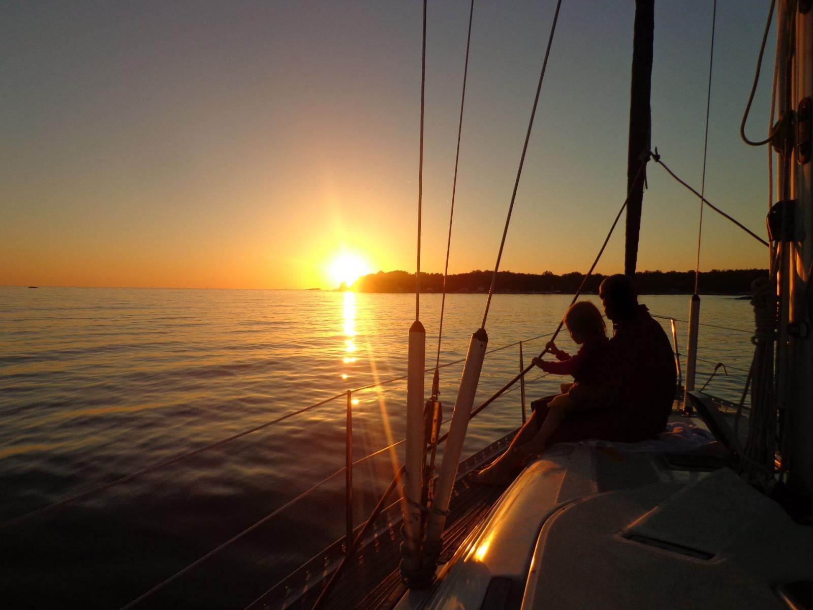 Giro in barca a vela ad Anzio con cena esclusiva