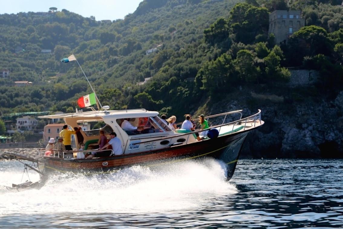 Gita in barca in Costiera Sorrentina e Capri da Positano