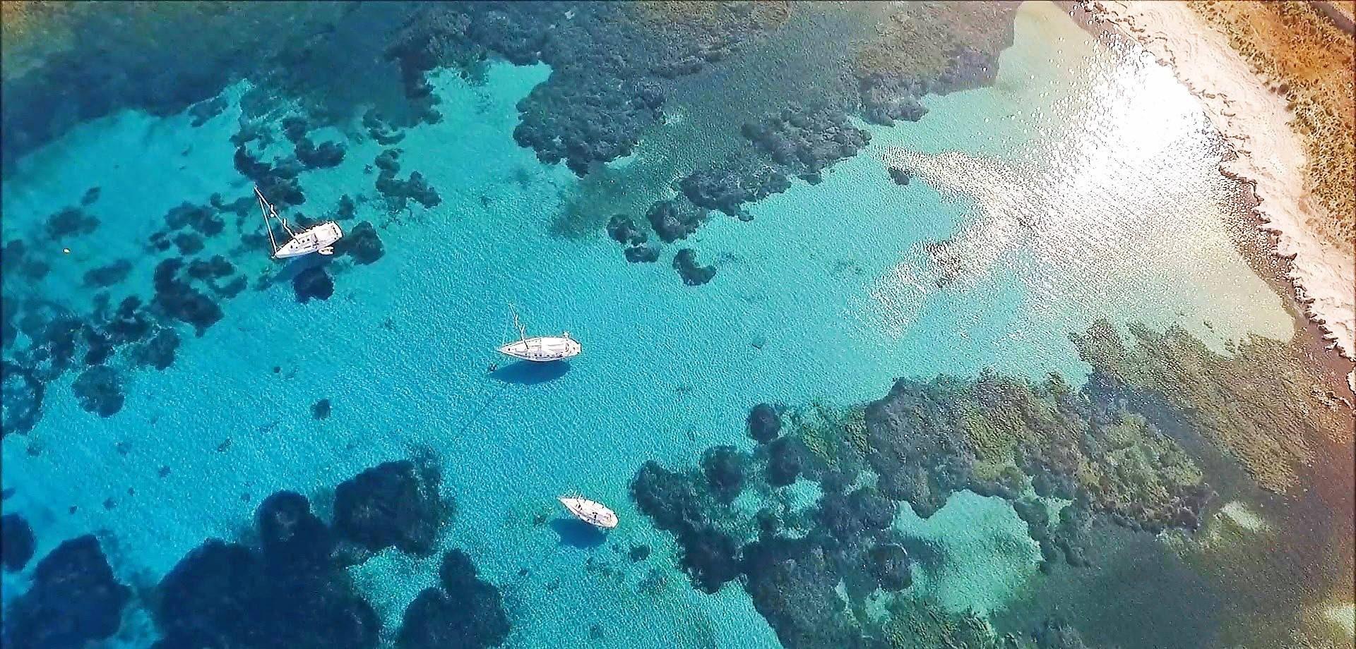 Gita in barca a vela privata all'Asinara