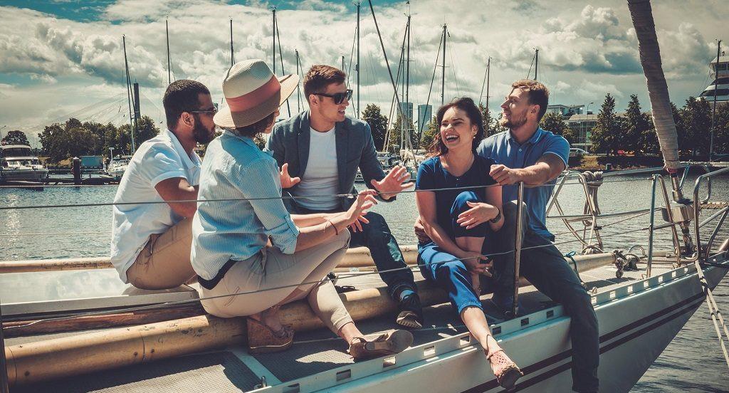 Gita esclusiva in barca a vela a Sanremo con pranzo e aperitivo