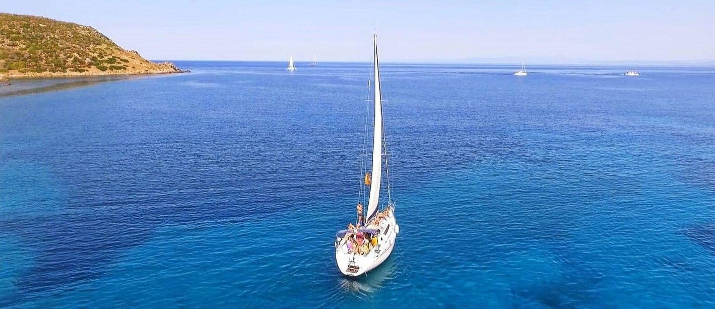 Gita giornaliera in barca a vela all'Asinara