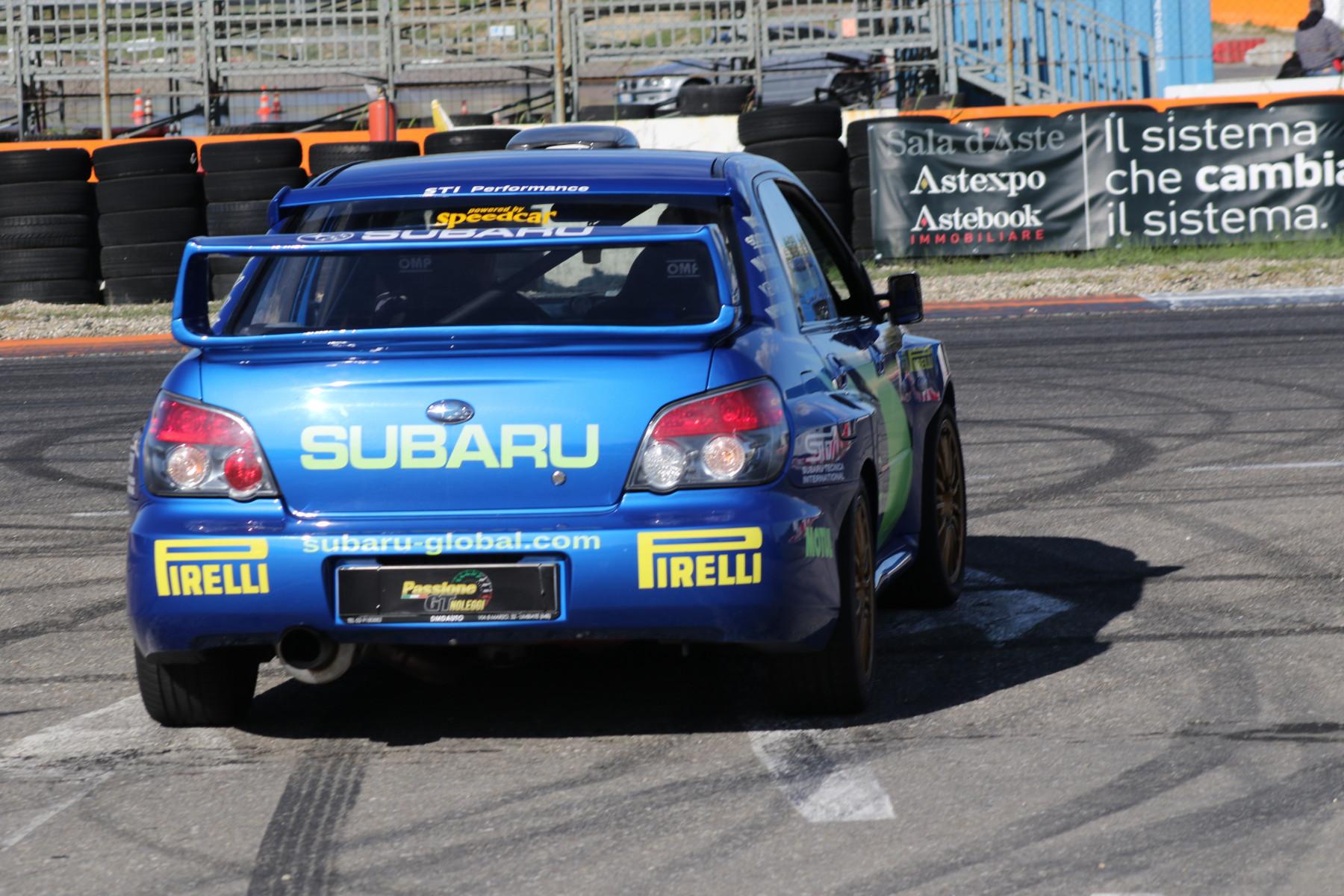 Guida sportiva in Subaru Impreza WRC all'Autodromo di Lombardore