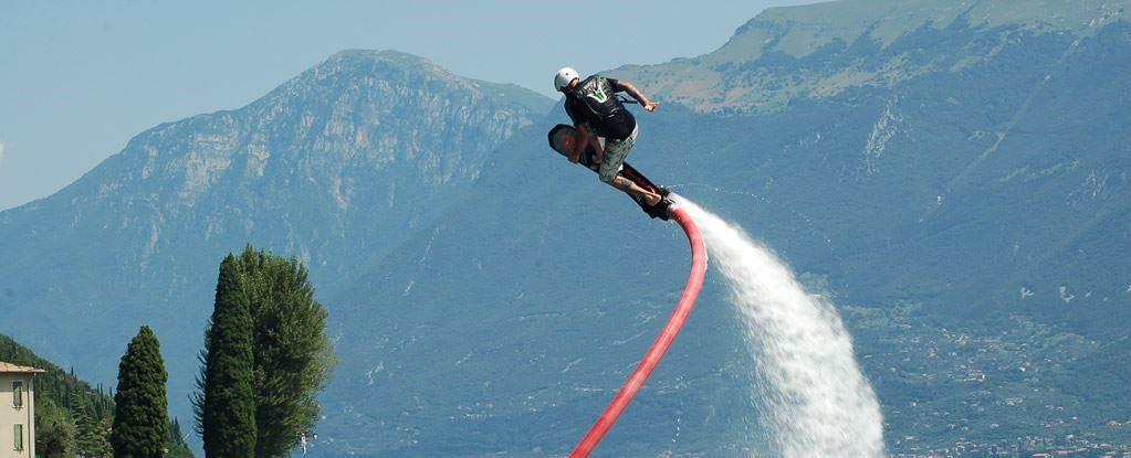 Hoverboard Experience sul Lago di Garda