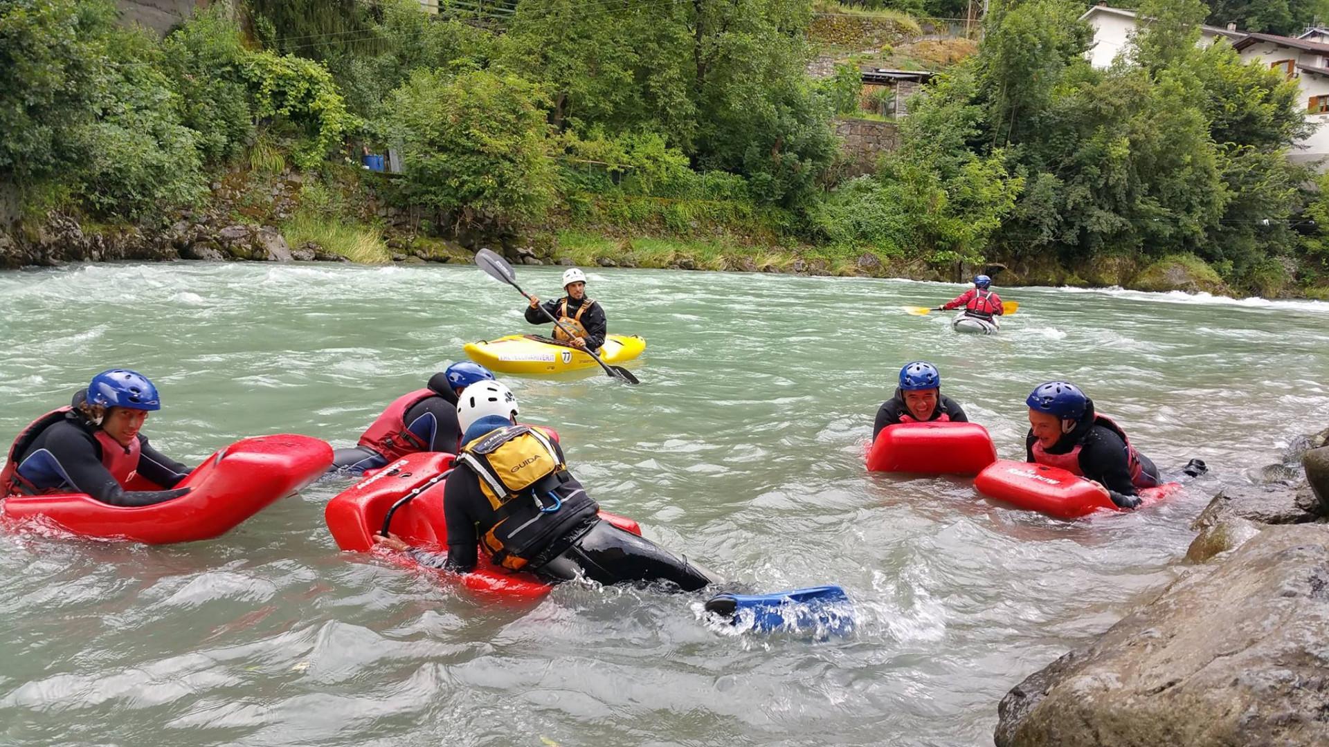 Hydrospeed Adrenaline in Valtellina