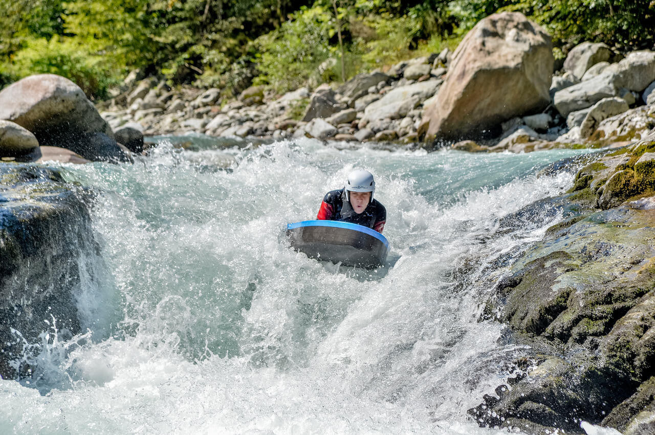 Hydrospeed Classic nella Valsesia in Piemonte