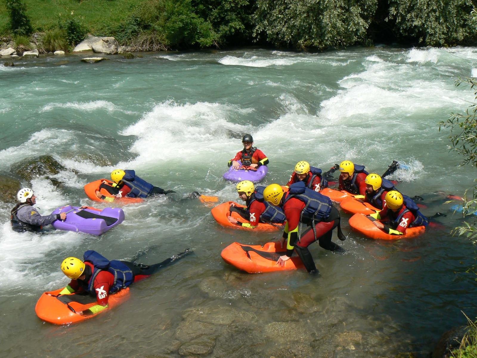 Hydrospeed Extreme sul fiume Noce in Trentino