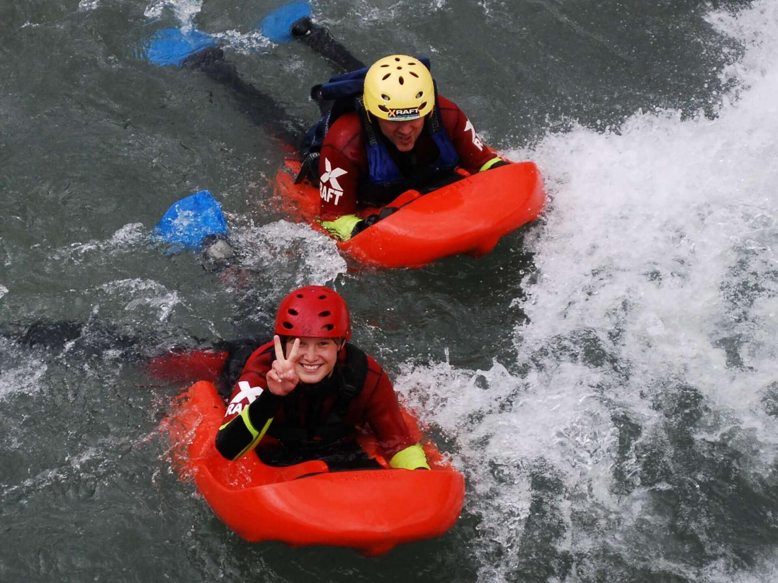 Hydrospeed Fun sul fiume Noce in Trentino