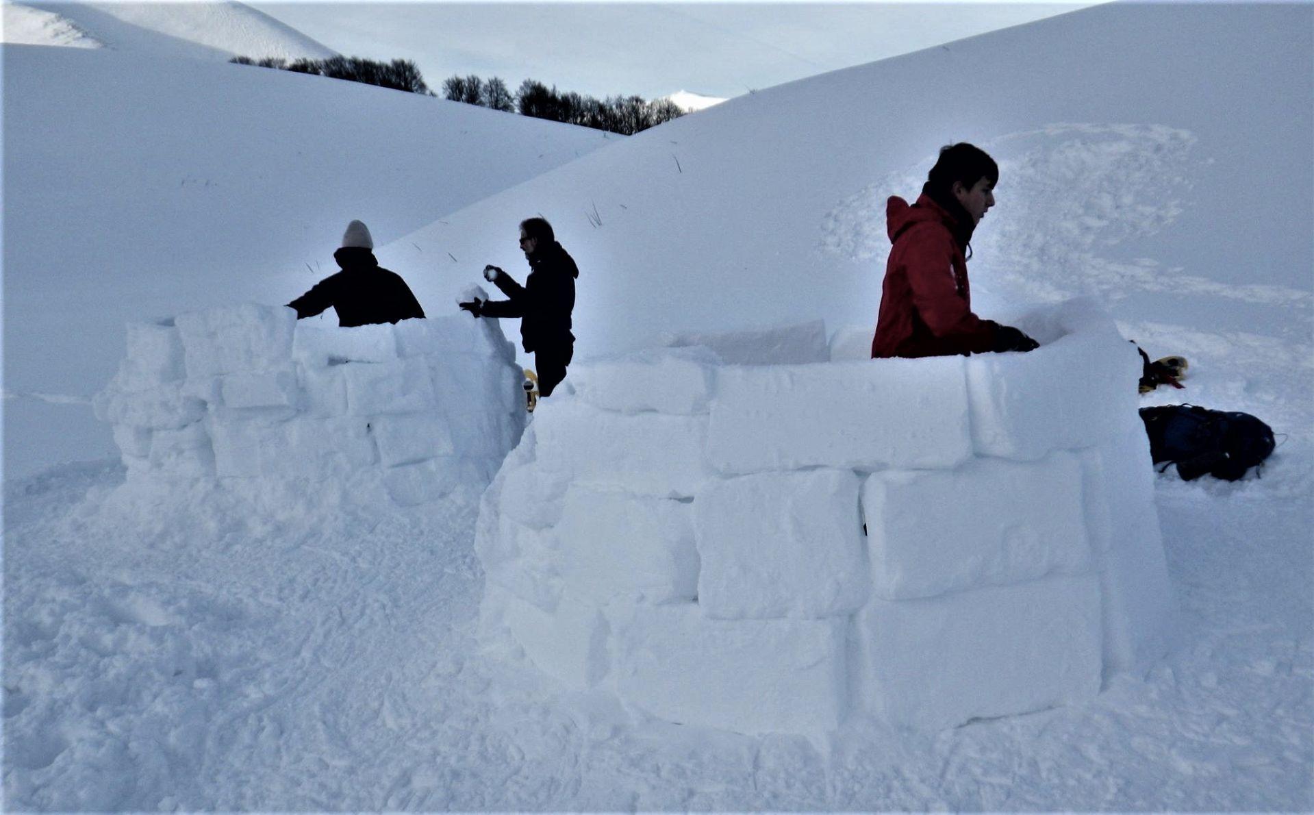 Igloo Survival Experience sui Monti Sibillini