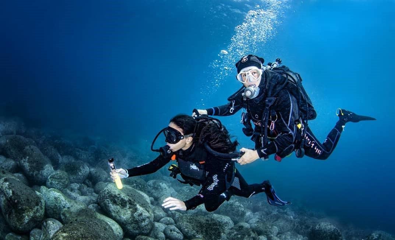 Immersione subacquea a Catania