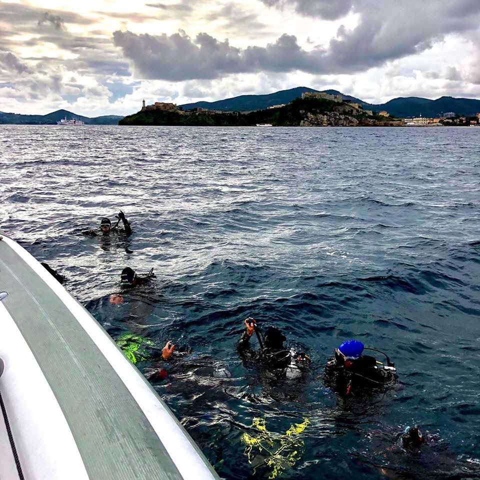 Immersione subacquea per principianti all'isola d'Elba