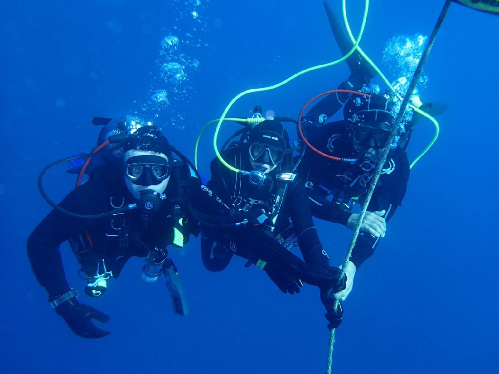 Immersione subacquea a San Vito Lo Capo