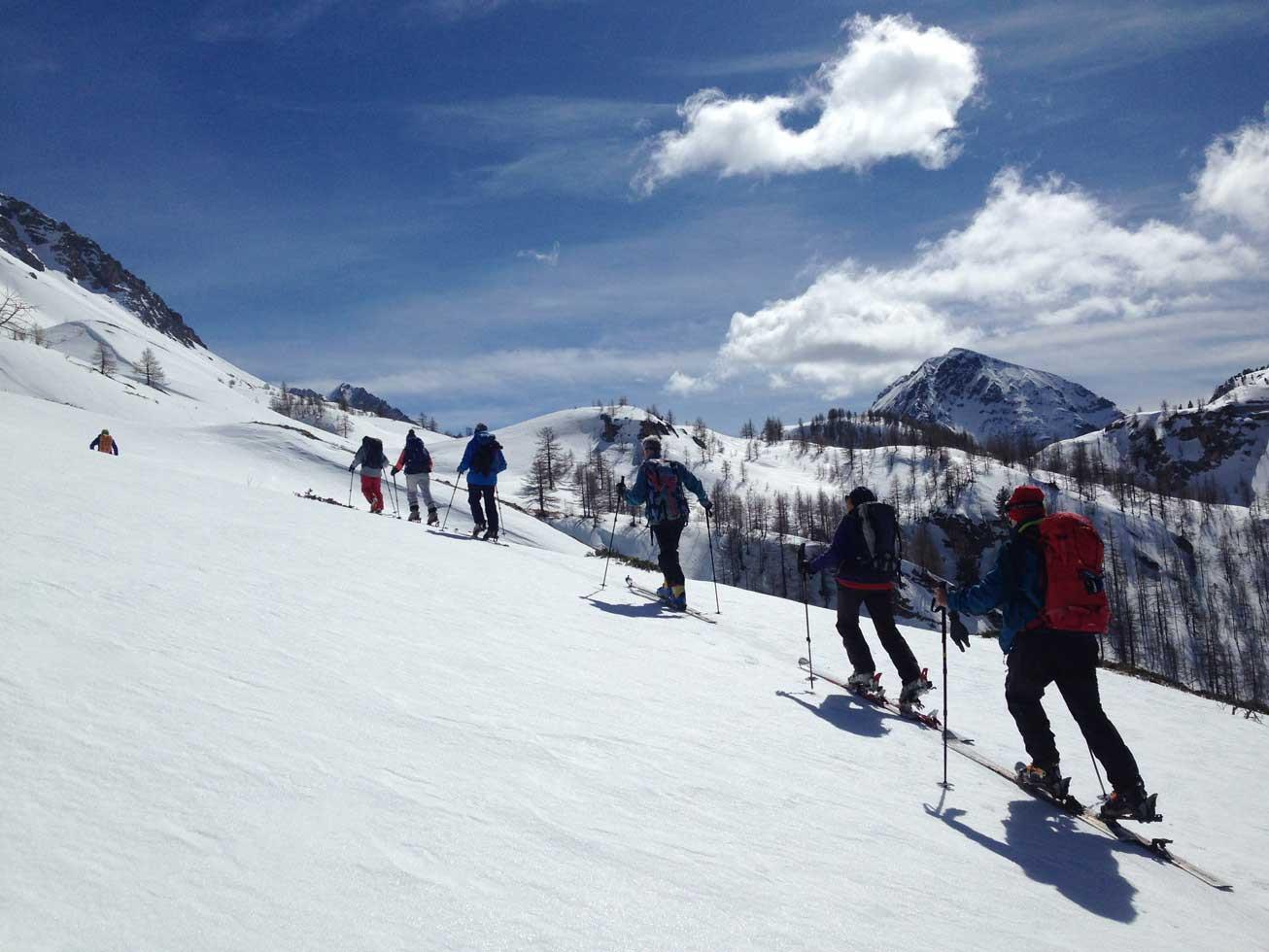 Introduzione allo Sci Alpinismo in alta Val di Susa
