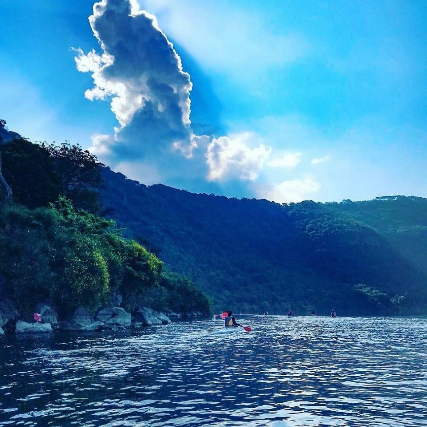 Kayak tour e aperitivo sul Lago di Castel Gandolfo