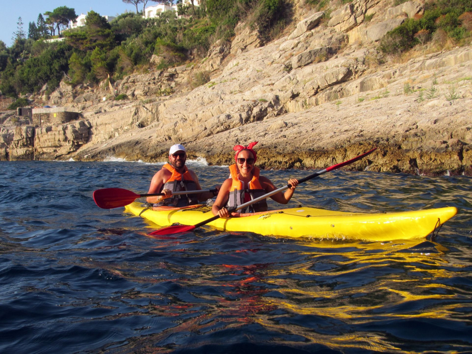 Kayak tour alla Cascatella in Costiera Sorrentina