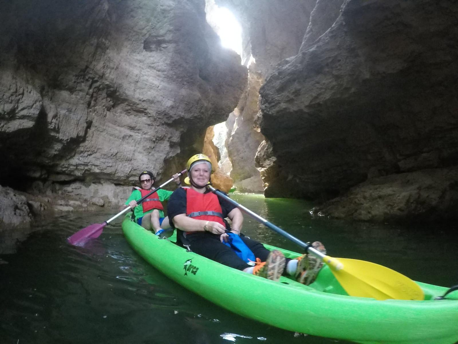 Kayak tour nelle Gole del Novella in Trentino Alto Adige