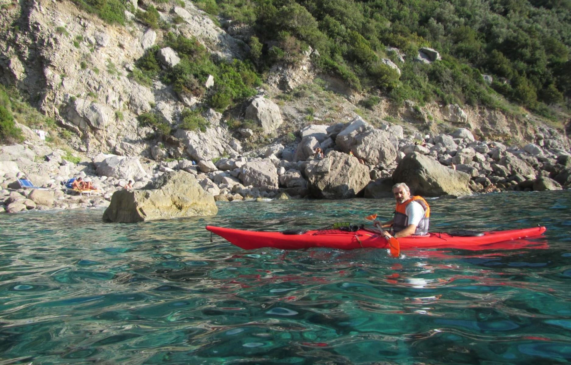 Kayak tour a Punta San Lorenzo in Costiera Sorrentina