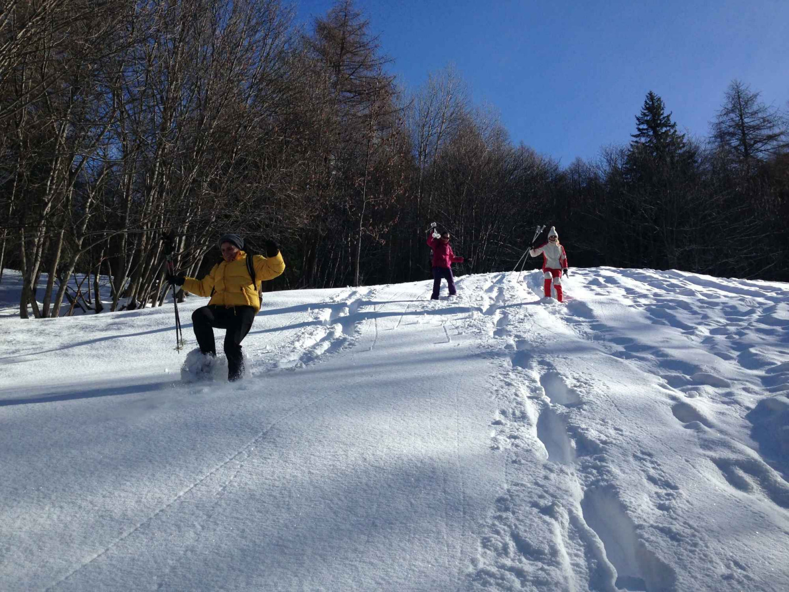 La neve: che magia! Ciaspolata per famiglie a Bardonecchia