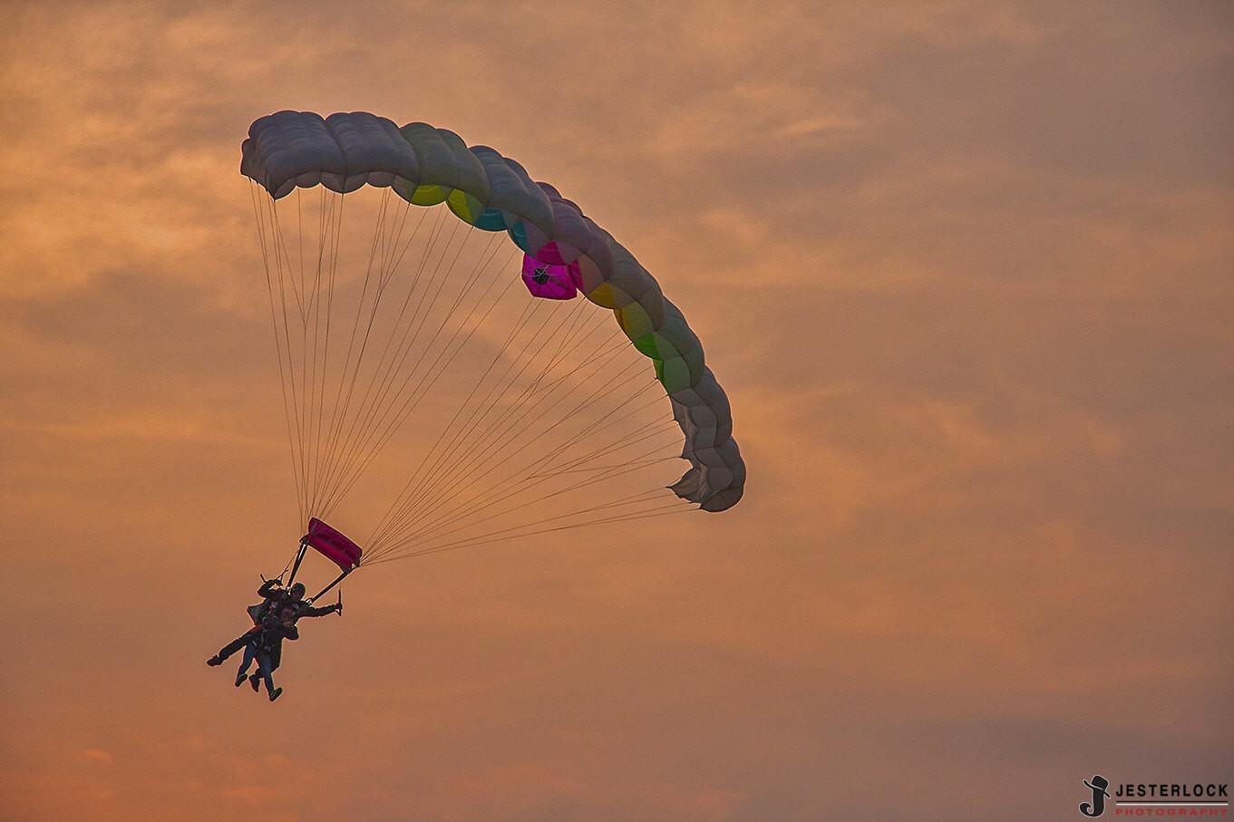 Lancio in Tandem Paracadutismo a Garzigliana (TO)