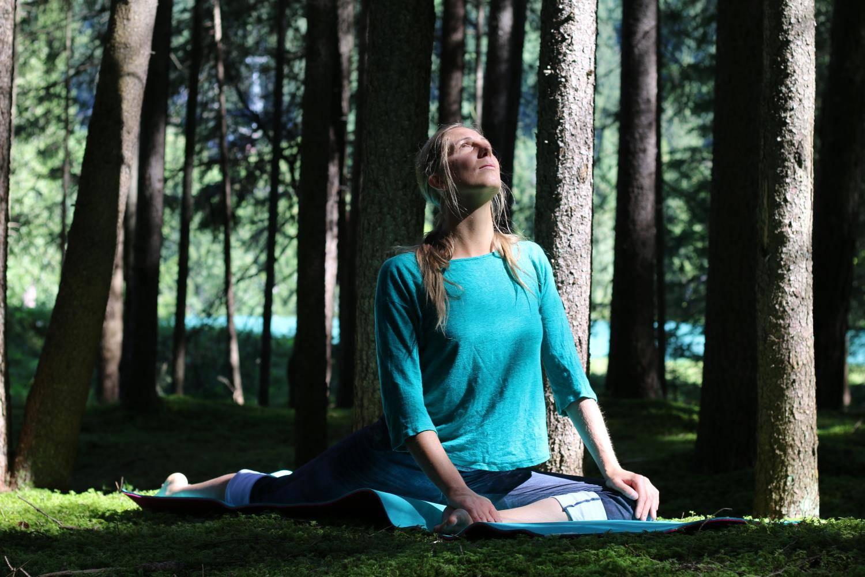 Lezione privata di meditazione Samoy a Canazei