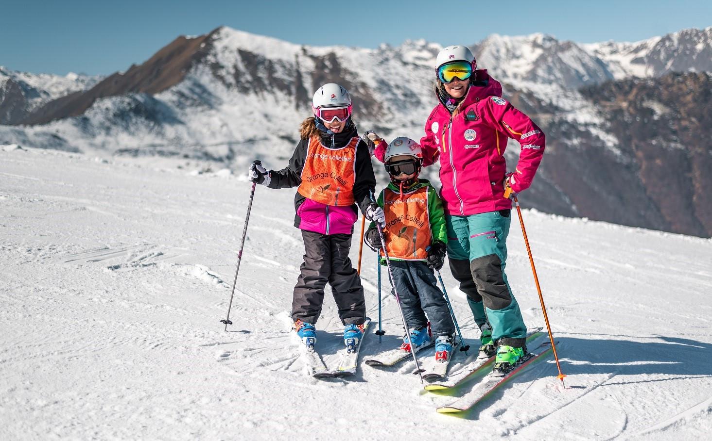 Lezione privata di sci all'Alpe di Mera in Valsesia per tutti i livelli