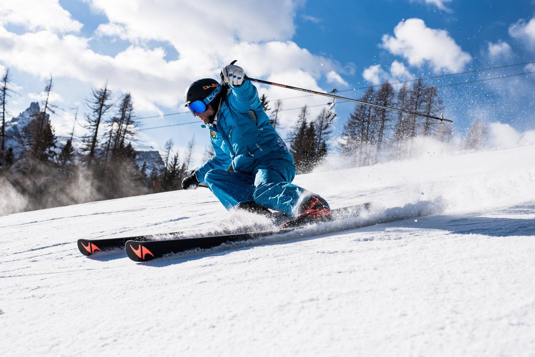 Lezione privata di sci a Cortina d'Ampezzo per tutti i livelli