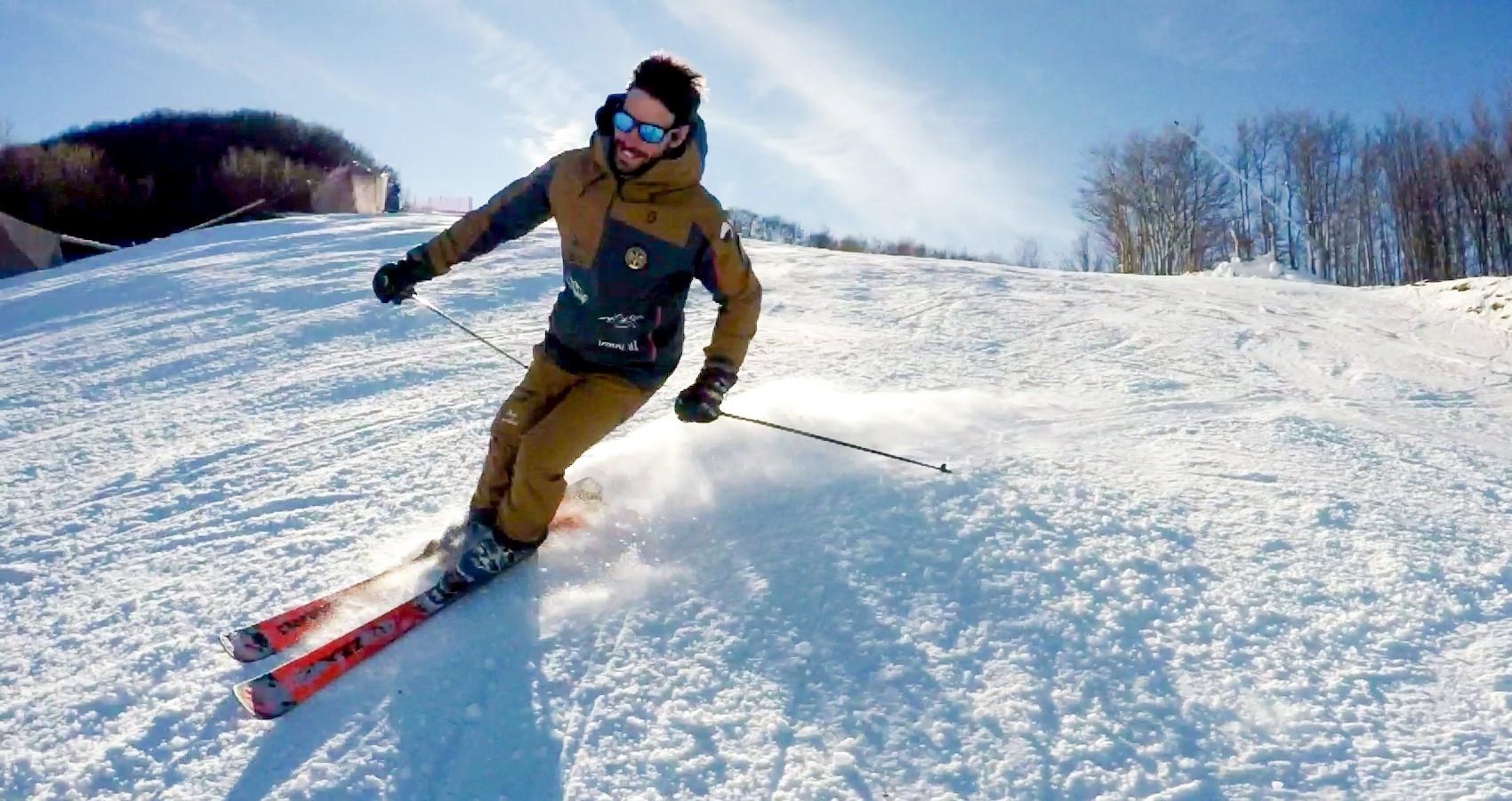 Lezione privata di sci sul Monte Cimone per tutti i livelli